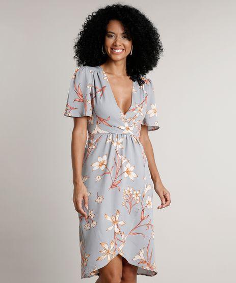 Vestido-Feminino-Curto-Transpassado-Estampado-Floral-Manga-Curta-Azul-Claro-9570882-Azul_Claro_1