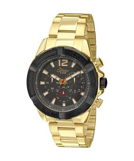 ee31dad02ed Relógio Condor Analógico Masculino - COVD54AH 4C Dourado - cea