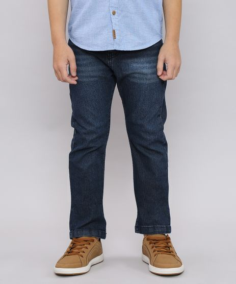 Calca-Jeans-Infantil-com-Bolsos-Azul-Escuro-9528727-Azul_Escuro_1
