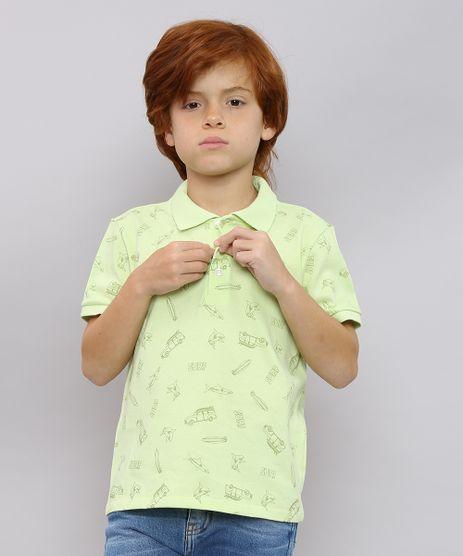 Polo-Infantil-Estampada-Surf-em-Piquet-Manga-Curta-Verde-Claro-9638627-Verde_Claro_1