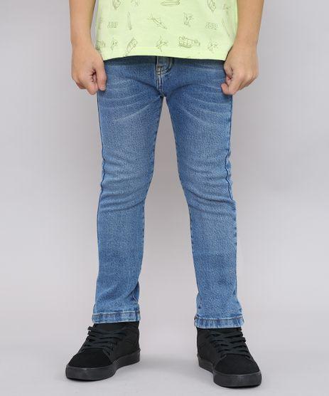 Calca-Jeans-Infantil-Skinny-com-Bolsos-Azul-Medio-9453225-Azul_Medio_1