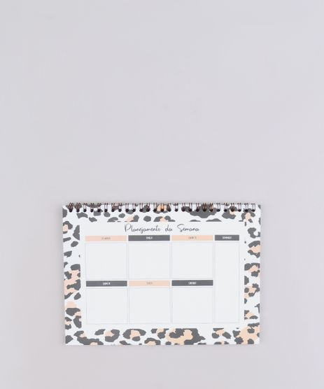 Bloco-Planner-Semanal-Estampado-Animal-Print-17cm-x-24cm--Bege-9684395-Bege_1
