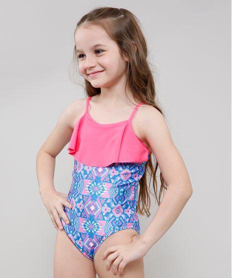 Maio-Infantil-Estampado-Etnico-com-Babado-Protecao-UV50--Azul-9630558-Azul_1