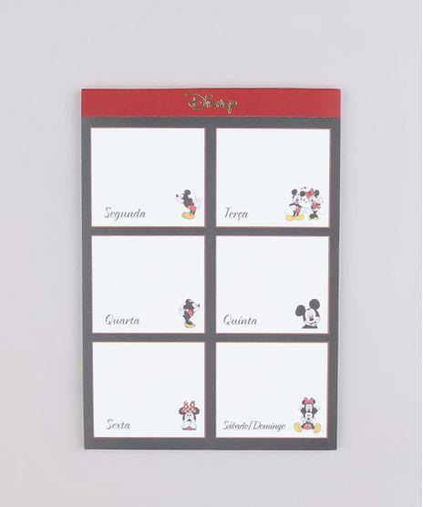 Bloco-Planner-Semanal-Minnie-e-Mickey-21cm-x-15cm--Vinho-9661627-Vinho_1