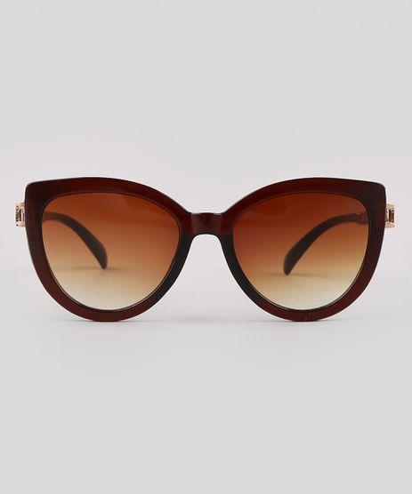 Oculos-de-Sol-Redondo-Feminino-Yessica-Marrom-9730998-Marrom_1
