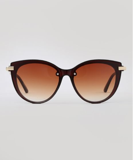 Oculos-de-Sol-Redondo-Feminino-Yessica-Marrom-9760359-Marrom_1