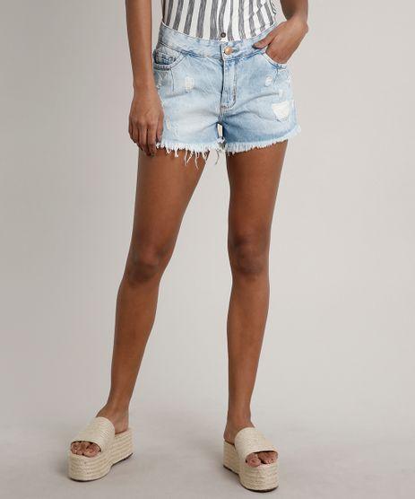 Short-Jeans-Feminino-Boyfriend-Destroyed-Azul-Claro-9666074-Azul_Claro_1