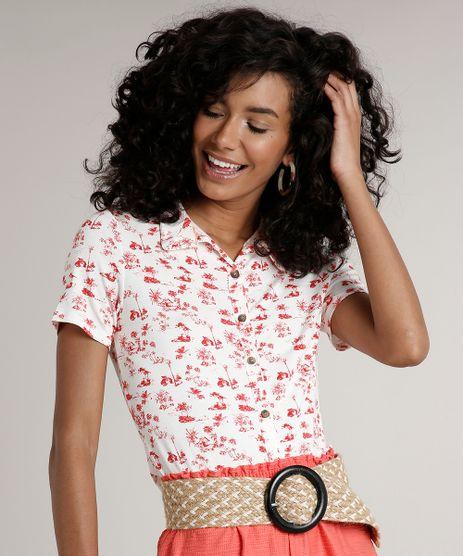 Camisa-Feminina-Estampada-de-Coqueiros-Manga-Curta-Off-White-9697068-Off_White_1