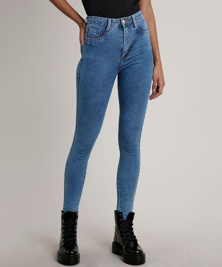 Calca-Jeans-Feminina-Sawary-Super-Lipo-Super-Skinny--Azul-Medio-9709217-Azul_Medio_1