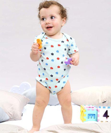 Body-Infantil-Estampado-de-Barquinhos-Manga-Curta--Verde-Claro-9584537-Verde_Claro_1
