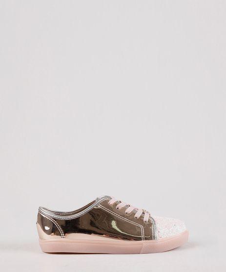 Tenis-Infantil-Molekinha-Metalizado-com-Glitter-Rose-9704436-Rose_1