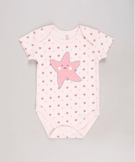 Body-Infantil-Estrela-do-Mar-Estampado-Manga-Curta-Rose-9584508-Rose_1