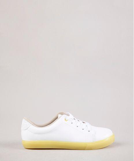 Tenis-Infantil-Molekinha-com-Glitter-e-Solado-Colorido-Branco-9704435-Branco_1