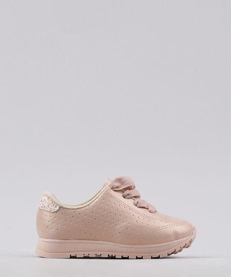 Tenis-Infantil-Running-Molekinha-com-Micro-Furos-e-Glitter-Rose-9767296-Rose_1