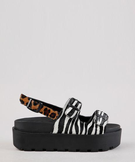 Sandalia-Feminina-Birken-Oneself-Flatform-em-Couro-Animal-Print-Onca-e-Zebra-Preta-9701566-Preto_1