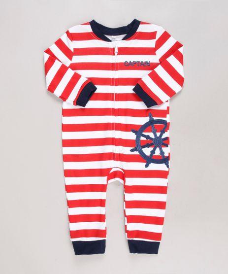 Macacao-Infantil-Listrado-Navy-com-Bordado--Captain--Manga-Longa-Branco-9584546-Branco_1