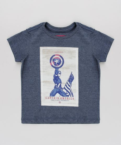 Camiseta-Infantil-Tal-Pai-Tal-Filho-Capitao-America-Manga-Curta-Azul-Escuro-9685939-Azul_1