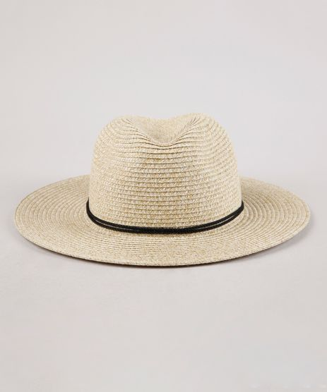 Chapeu-de-Praia-Feminino-com-Cordao-e-Tassel-Bege-Claro-9146368-Bege_Claro_1