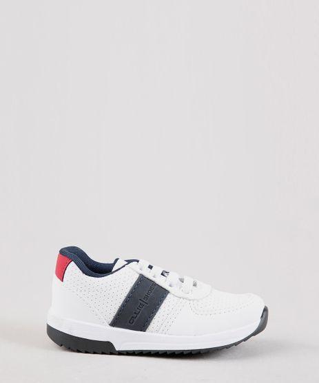 Tenis-Infantil-Ollie-Running-com-Faixa-Lateral-e-Micro-Furos-Branco-9692216-Branco_1