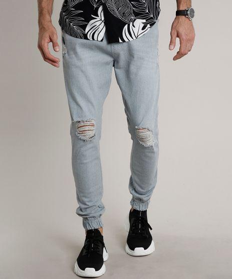 Calca-Jeans-Masculina-Jogger-Destroyed-Azul-Claro-9663924-Azul_Claro_1