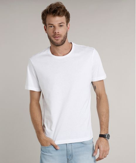 Camiseta-Masculina-Basica-Manga-Curta-Gola-Careca-Branca-9597170-Branco_1