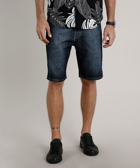 Bermuda-Jeans-Masculina-Slim-Azul-Escuro-9675606-Azul_Escuro_1