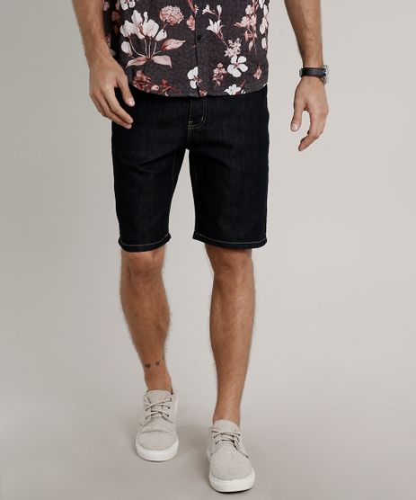 Bermuda-Jeans-Masculina-Slim-Azul-Escuro-9675603-Azul_Escuro_1