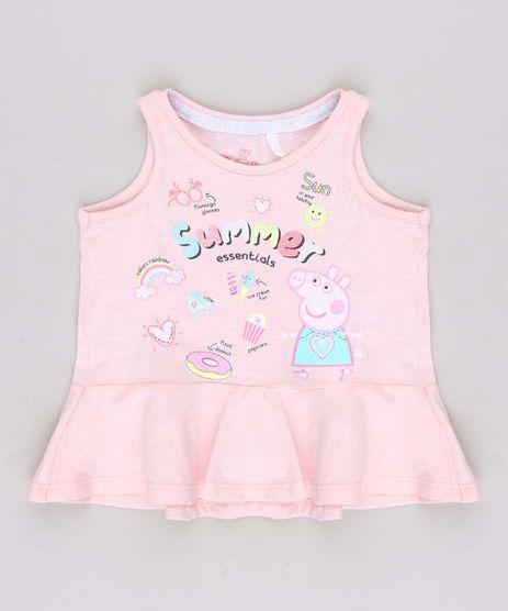 Regata-Infantil-Feminina-Peppa-Pig-com-Babado-Rosa-Claro-9688717-Rosa_Claro_1