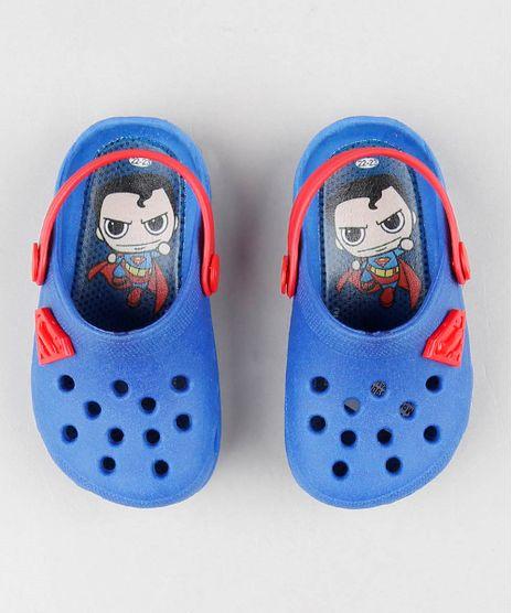 Babuche-Infantil-Super-Homem-Azul-8900383-Azul_1
