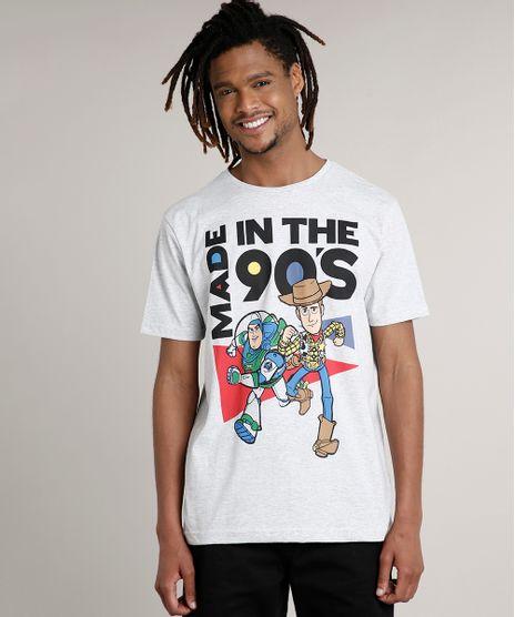 Camiseta-Masculina-Toy-Story-Manga-Curta-Gola-Careca-Cinza-Mescla-Claro-9680994-Cinza_Mescla_Claro_1