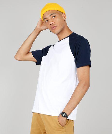 Camiseta-Masculina-Basica-Manga-Curta-Raglan-Gola-Careca-Branca-8808223-Branco_1_1