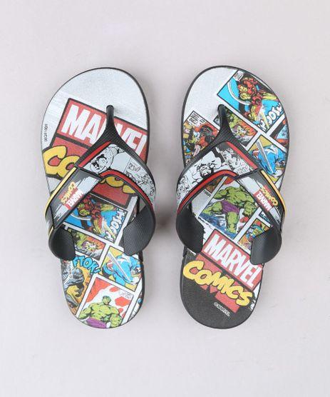 Chinelo-Infantil-Marvel-Comics-Preto-9694979-Preto_1