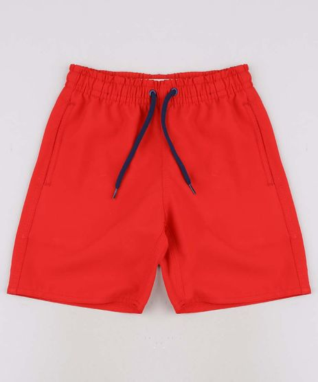 Bermuda-Surf-Infantil-Basica-com-Bolso-Vermelha-9663800-Vermelho_1
