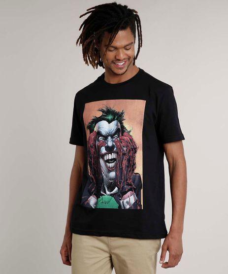 Camiseta-Masculina-Coringa-Manga-Curta-Gola-Careca-Preta-9680995-Preto_1