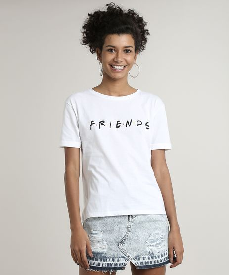 Blusa-Feminina-Friends-Manga-Curta-Decote-Redondo-Off-White-9682339-Off_White_1