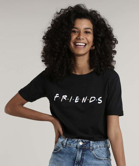 Blusa-Feminina-Friends-Manga-Curta-Decote-Redondo-Preta-9682339-Preto_1