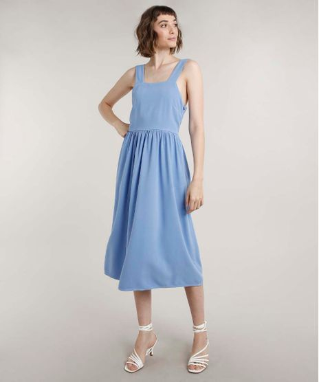 Vestido-Feminino-Mindset-Midi-Decote-Reto-Alca-Larga-Azul-9778820-Azul_1