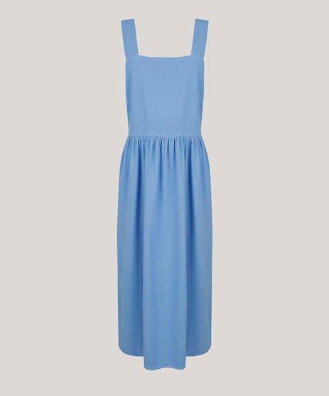 Vestido-Feminino-Mindset-Midi-Decote-Reto-Alca-Larga-Azul-9778820-Azul_5