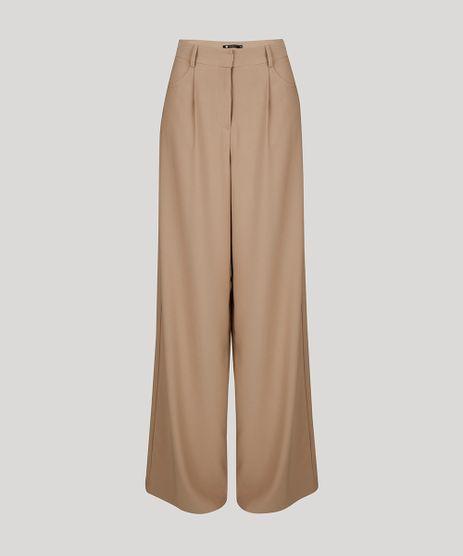 Calca-Feminina-Mindset-Pantalona-Alfaiatada-com-Bolsos-Bege-Escuro-9618502-Bege_Escuro_5