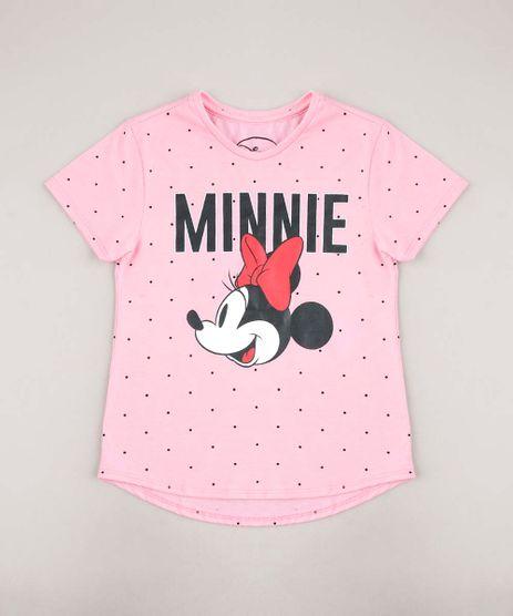 Blusa-Infantil-Minnie-Estampada-Poa-Manga-Curta-Rosa-9668702-Rosa_1