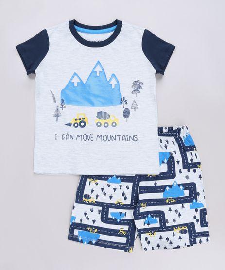 Pijama-Infantil-Carrinhos-Manga-Curta-Cinza-9632352-Cinza_1