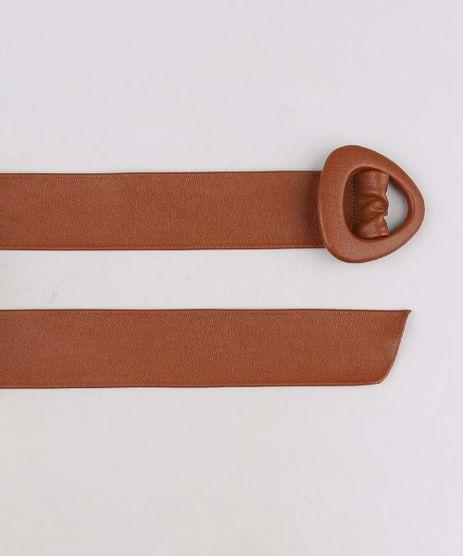 Cinto-Feminino-com-Fivela-Triangular-Caramelo-9641044-Caramelo_1