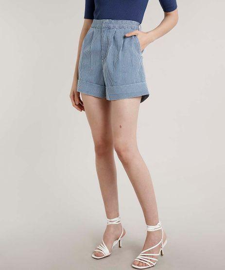 Short-Jeans-Feminino-Mindset-Mom-Listrado-com-Barra-Dobrada-Azul-Medio-9784539-Azul_Medio_1