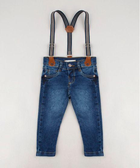 Calca-Jeans-Infantil-Skinny-com-Suspensorio-Azul-Escuro-9635846-Azul_Escuro_1