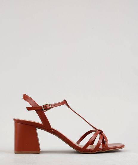 Sandalia-Feminina-Oneself-Salto-Quadrado-Caramelo-9675099-Caramelo_1