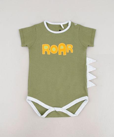 Body-Infantil--Roar--com-Barbatana-Manga-Curta-Verde-9703059-Verde_1