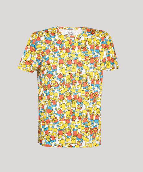 Camiseta-Masculina-Estampada-Bart-Manga-Curta-Gola-Careca--Off-White-9607074-Off_White_1