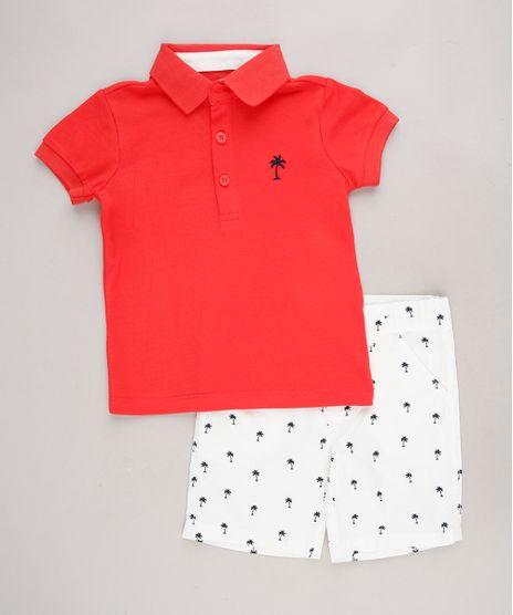 Conjunto-Infantil-Coqueiros-de-Polo-Manga-Curta-Vermelho---Bermuda-Estampada-Off-White-9563877-Off_White_1