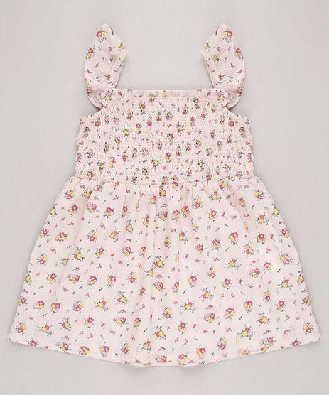 Vestido-Infantil-Estampado-Floral-com-Babados-Sem-Manga-Rosa-Claro-9515358-Rosa_Claro_1