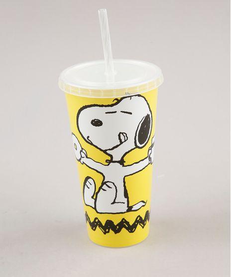 Copo-com-Canudo-Snoopy--Amarelo-9676055-Amarelo_1